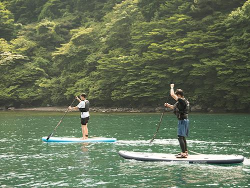 箱根 芦ノ湖SUP体験