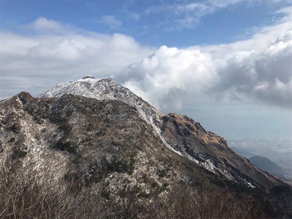 長崎 雪の雲仙 仁田峠